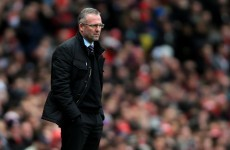 Paul Lambert's statement after he was sacked by Villa is very, very classy