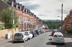 Thief chases man up and down street with a knife after burglary