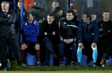 In pics: Roy Keane looked at home in the Cobh Ramblers dugout tonight