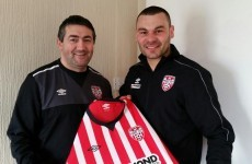 Anthony Elding is quickly becoming a LOI journeyman after his latest move to Derry City