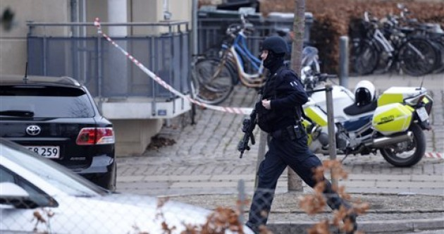 Danish police search for gunman after man killed in 'likely terror attack'