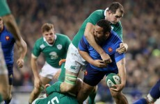 'Ireland are in pole position to do the Grand Slam' - France prop Uini Atonio