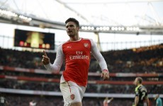 Giroud bags two goals in as many minutes to send FA Cup holders Arsenal through