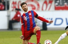 Xabi Alonso harshly sent off on 100th CL appearance as Bayern