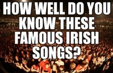 How Well Do You Know These Famous Irish Songs?