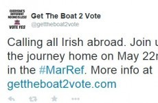 Irishman in London launches campaign encouraging ex-pats to 'get the boat' to vote in referendum