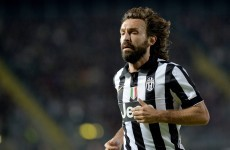 Bearded gent Andrea Pirlo makes Friday night a little bit better