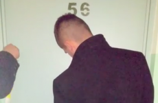 Drunk man makes incredibly dramatic entrance to his apartment