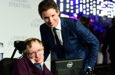 Eddie Redmayne was pretty excited to win an Oscar, but Stephen Hawking was too