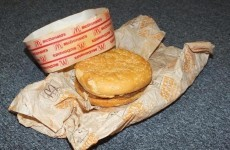This McDonald's burger was bought 20 years ago and it hasn't changed a bit