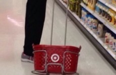 Shoppers in the US have apparently forgotten how shopping baskets work