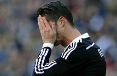Barcelona fans chant 'Ronaldo doesn't drink water'