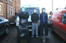 In photos: Two men arrested after water meter van blocked with staff inside