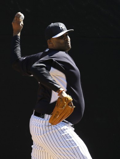 CC Sabathia turns up for spring training weighing a whopping 22 stone
