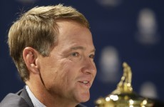 Davis Love III has been named US captain for next year's Ryder Cup