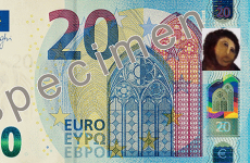 So, the face on the new €20 note looks… familiar