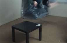 This guy tried to destroy a €7 IKEA table but failed spectacularly