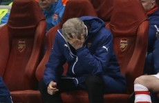 'We were suicidal defensively' - Wenger bemoans 'horrible' night for Arsenal