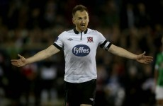 Dundalk captain Stephen O'Donnell plays down fresh injury concerns