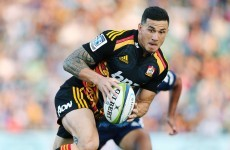 It was Sonny Bill v Richie this morning and the result was not pretty