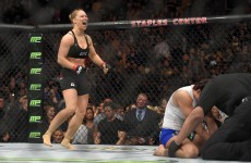 Ronda Rousey compared to Mike Tyson after taking 14 seconds to stop Cat Zingano