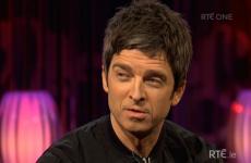 Yep, Noel Gallagher was miming on RTÉ last night
