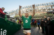 Zebo underlining status as Schmidt favourite on Ireland's left wing