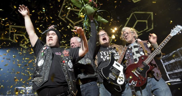 Four punk rockers with learning disabilities will represent Finland in the Eurovision