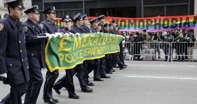 Charlie Flanagan will march in the New York Paddy's Day parade, despite Irish LGBT ban