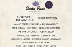 Here's what the Electric Picnic lineup looks like without the men