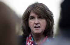 Joan Burton was (very briefly) blocked from leaving Clondalkin this morning