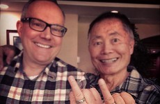 Here's why George Takei asked the internet to give the finger to Alabama last night