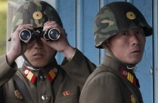 North and South Korea exchange fire across disputed waters