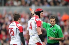 A Frenchman has been appointed to referee Leinster's Champions Cup quarter-final