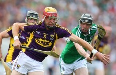 3 changes each for Limerick and Wexford hurlers with Hannon and Shore both back