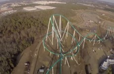 This is what it's like to ride the world's tallest and fastest rollercoaster