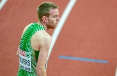 An Irish athlete chose the best time possible to run a personal best at the European Indoors