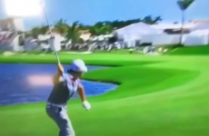 'It felt good at the time' - McIlroy apologises for throwing club in the lake