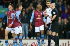 Villa off to Wembley despite Grealish red card and pitch invaders