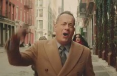 Tom Hanks lipsyncing to Carly Rae Jepsen's new song will fill you with joy