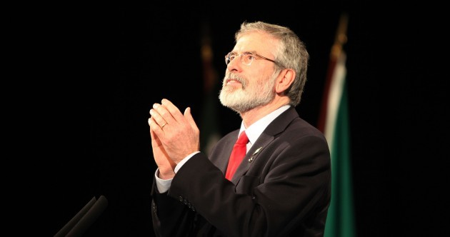 Gerry Adams: Sinn Féin is ready for power