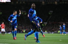 Welbeck sends 10-man United packing as Arsenal book their semi-final spot