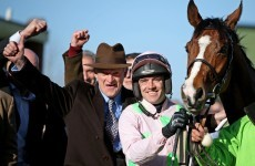 Faugheen takes the Champion Hurdle at Cheltenham as Mullins makes history