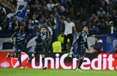 Casemiro drills home the goal of the night as Porto ease past Basel