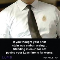 Everyone is mortified by the hashtag on the Luas' latest fare evasion campaign