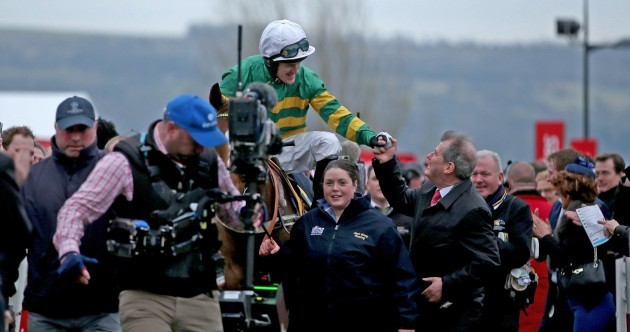 AP McCoy finally gets a winner on a day of big-priced shocks at Cheltenham
