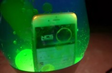This guy dropped an iPhone 6 into a lava lamp and things got weird