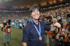 Rivals weep as Joachim Loew signs new German contract