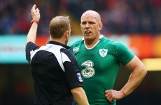 Ireland have 'no gripes' with Wayne Barnes after Wales defeat