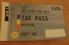 How do we get our hands on one of these 'Tae Passes'? It's the sporting tweets of the week